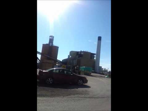 Goderich Sifto Evaporator Plant - One Month After F3 Tornado