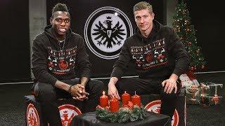 Da Costa und Zimmermann wünschen einen schönen 2. Advent | Eintracht Frankfurt