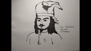 Video Cara Menggambar Pahlawan Nasional Sultan Hasanuddin download MP3, 3GP, MP4, WEBM, AVI, FLV September 2019
