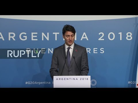 LIVE:  Trudeau holds press conference following G20 summit
