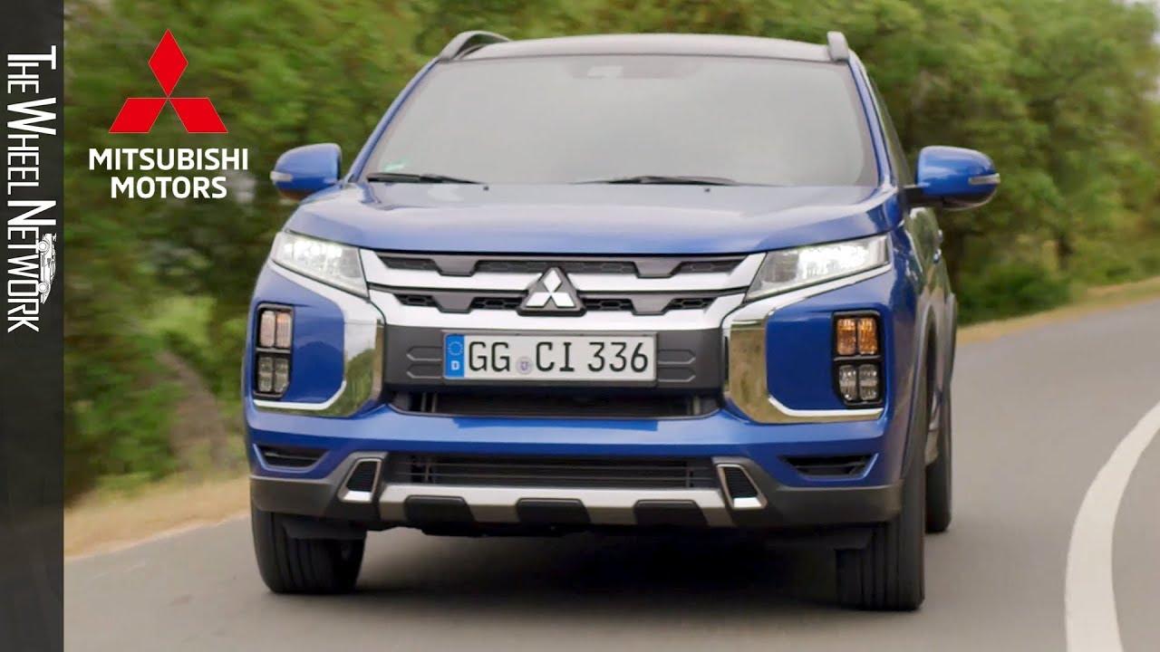2020 Mitsubishi Asx Road Trail Driving Exterior Eu Spec Youtube