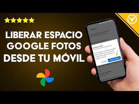 Cómo Liberar Espacio en Google Fotos o Drive Desde mi Móvil Android o PC