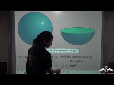 Introduction and Surface Area of Hemisphere