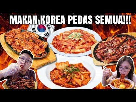 KOREAN FOOD DISINI PEDASS SEMUA!!! *CABE SEMUA*