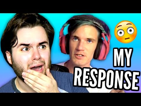 Thumbnail: Reacting To PewDiePie's Video ABOUT ME | PewDiePie ROASTED ME?!