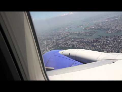Southwest Airlines - Takeoff And Landing - Houston Hobby To NYC LGA