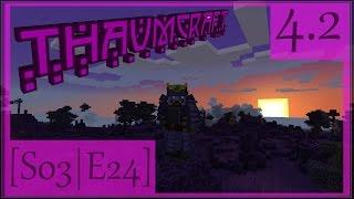 Minecraft [Thaumcraft 4.2] #24 - Таумическая Броня-Крепость!