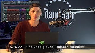 MADDIX   'The Underground' FL Studio Project Masterclass