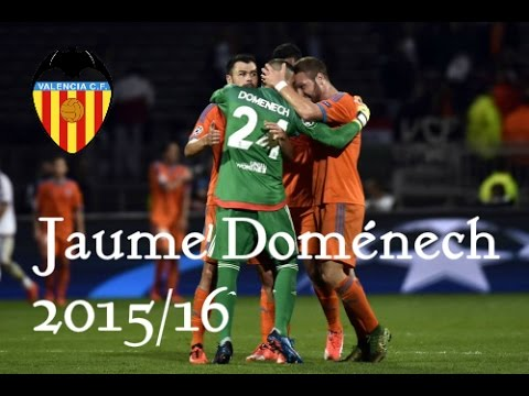 Jaume Domenech Best Saves Valencia Cf 2015 2016 Youtube