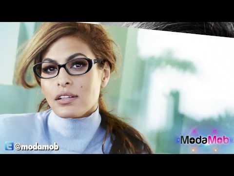 Eva Mendes New Face Of Vogue Eyewear