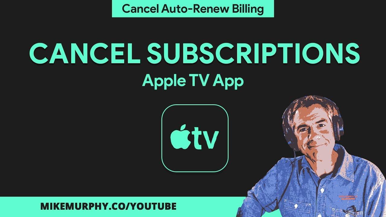 Cancel apple app subscription on mac