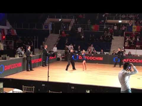 Polivia Moschou-Nikolaos Karoglou World Championship 2017 Junior II Latin