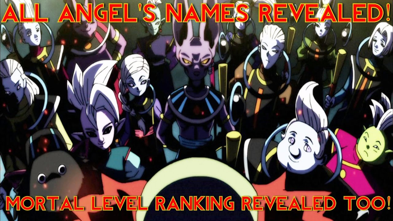 All The Angel S Name Revealed In Dragon Ball Super Mortal Level Ranking Too