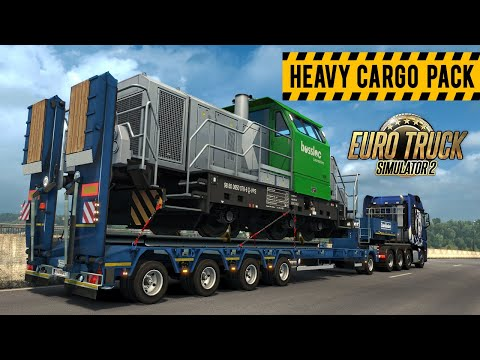 Euro Truck Simulator 2 - Heavy Cargo Pack DLC