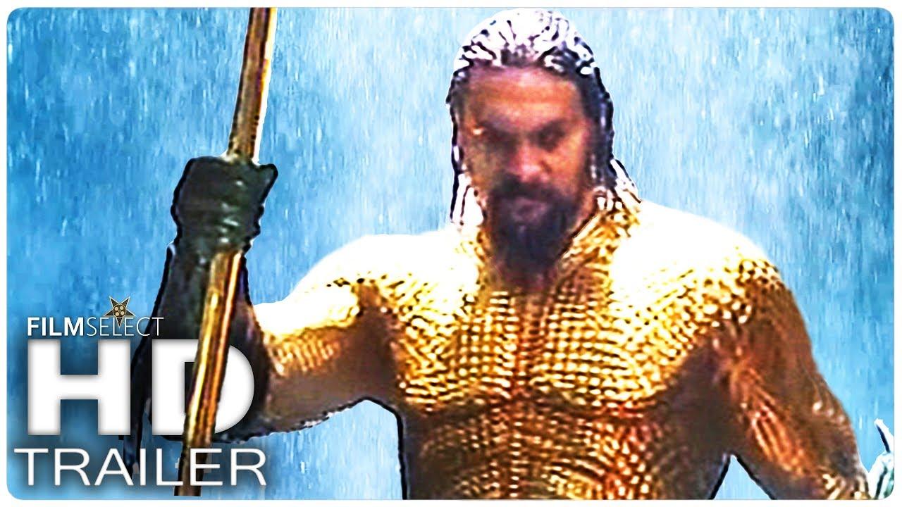 Aquaman Trailer 2 Español 2018 Youtube