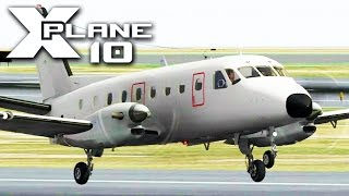 X-Plane 10 - (First Look) Dreamfoil EMB-110