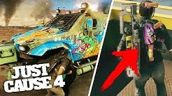 JUST CAUSE 4 WEAPON AND VEHICLE CUSTOMISATION LEAKED!?
