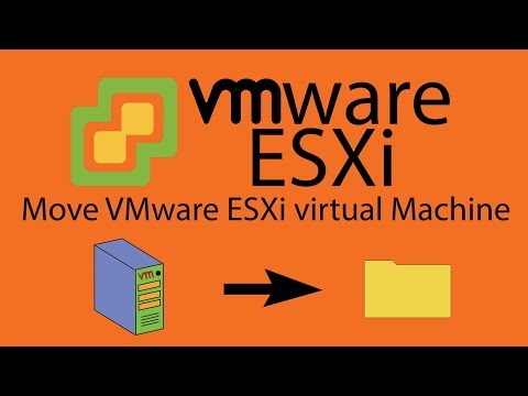 Move VMware ESXi virtual Machine to a new host or just save files