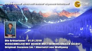Die Arkturianer - VERSCHMELZEN MIT DEINEM MULTIDIMENSIONALEN SELBST - durch Suzanne Lie