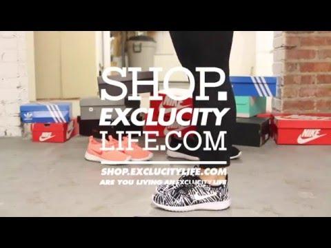 low priced 274b2 94796 Womens Nike Juvenate Print Black - White On feet Video at Exlcucity