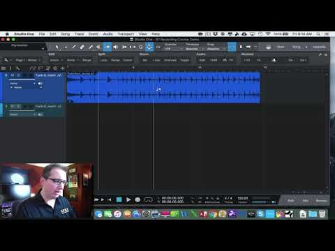 Recording in Studio One Made Easy:  The Tool Bar