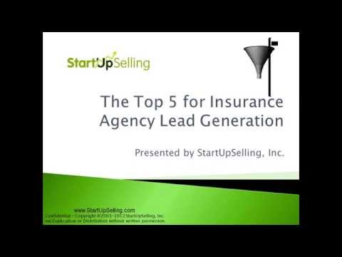 Top 5 Insurance Agency Lead Generation Tips