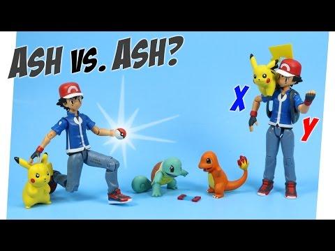 Pokémon Ash and Pikachu Gotta catch 'em all 2015 Tomy Toys
