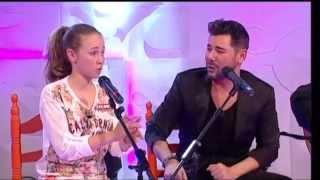 """Menuda Noche 2014/15: Luz María y Miguel Poveda interpretan """"Tangos"""""""