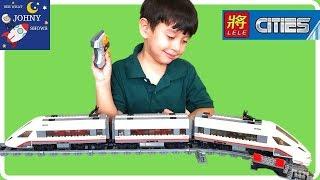 Fake Lego City High Speed Train Vs Lego City High Speed Passenger Train