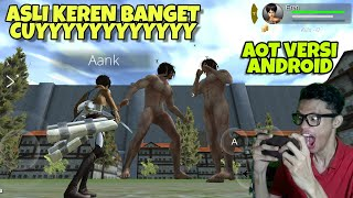 Cara Main Game Attack On Titan Multiplayer Di Android - Gameplay Indonesia