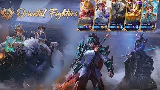 KETIKA 5 PLAYER MYTHIC BERSATU PAKAI HERO ORIENTAL FIGHTER - MUSUH AUTO BACOT! NGATAIN KAMI CHEATER!