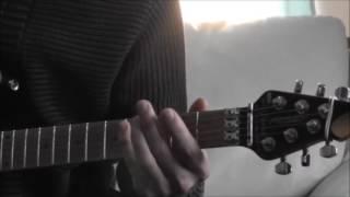 Puhdys Eisbären Gitarren Intro how to play / lesson / tabulatur