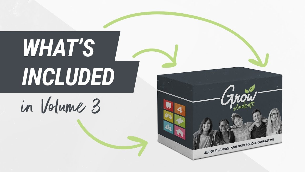 Grow Curriculum   Youth Ministry Curriculum and Strategy