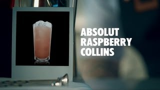 Absolut Raspberry Collins Drink Recipe - How To Mix