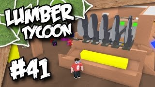 Lumber Tycoon 2 #41 - SAW BENCH SETUP (Roblox Lumber Tycoon)