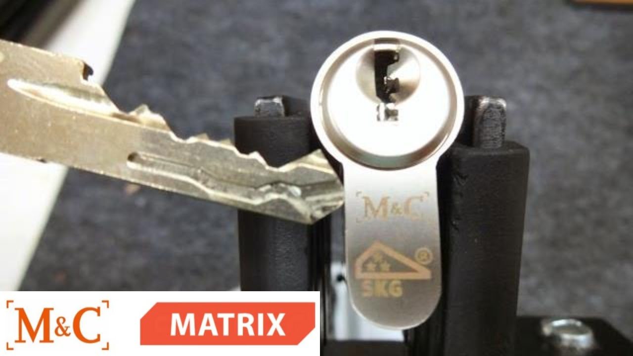 M&c Cilinder 1046 M C Matrix Skg W Trap Pins Picked Gutted