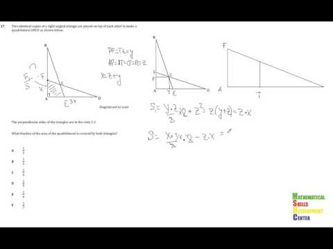 Решение задачи 27 из пробного NUFYP по математике