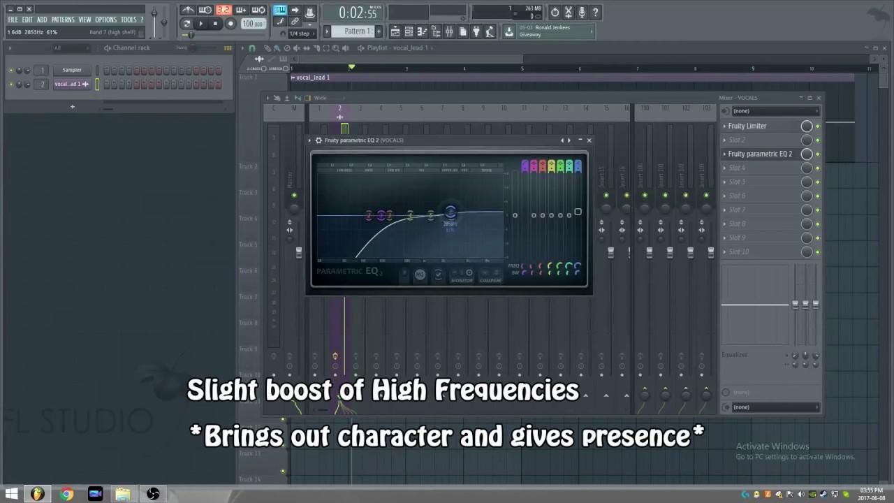 fl studio tutorial processing vocals eq compression de essing and effects youtube. Black Bedroom Furniture Sets. Home Design Ideas