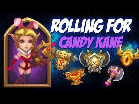 Castle Clash Rolling For Candy Kane (BluePanda Acc)