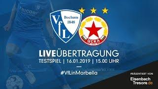 LIVE: VfL Bochum 1848 v PFC CSKA Sofia