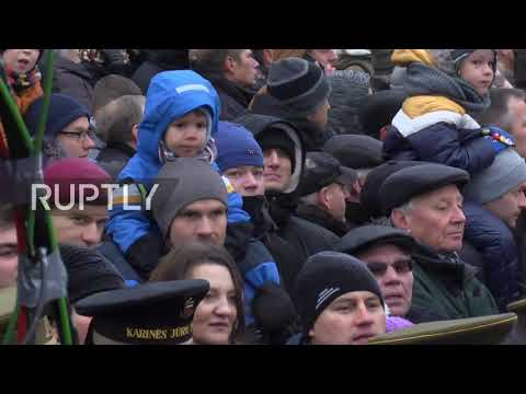 Lithuania: US Patriot missiles join Vilnius parade marking 100 years of Armed Forces