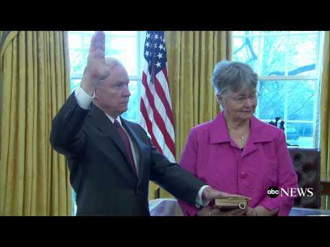 Sen. Jeff Sessions Sworn In as Attorney General