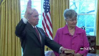 Sen. Jeff Sessions Sworn In as Attorney General Free HD Video