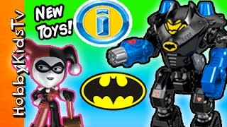NEW Imaginext ROBO Battle BATCAVE! Toy Review Fun + Surprise Toys  HobbyKidsTV