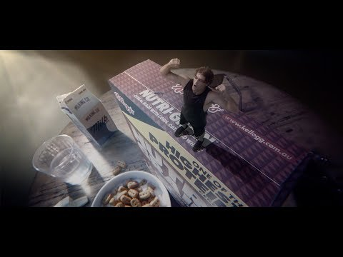 Nutri-Grain one of the HIGHEST PROTEIN cereals TVC