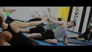 Открытый урок по пилатесу (инструктор: Александр Щеглаков)