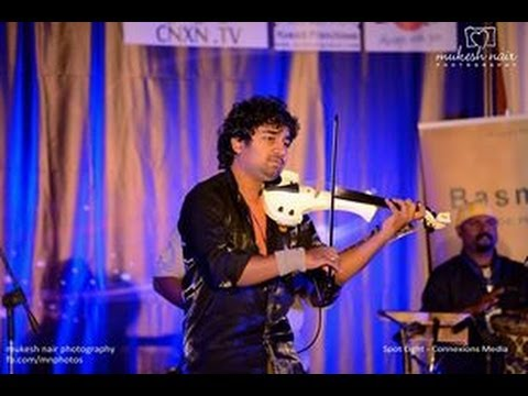 Abhijith Live Volin fusion - Azhalinte azhangalil...