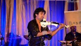Abhijith Live Volin fusion - Azhalinte azhangalil Aval manjupoy