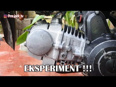 EKSPERIMENT !!! CARA MEMBERSIHKAN KOTORAN PADA BLOK MESIN MOTOR