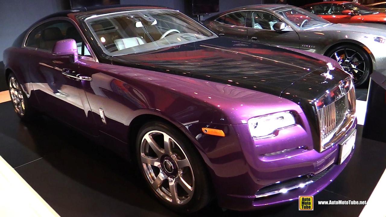 2017 Rolls Royce Wraith - Exterior and Interior Walkaround - 2017 ...